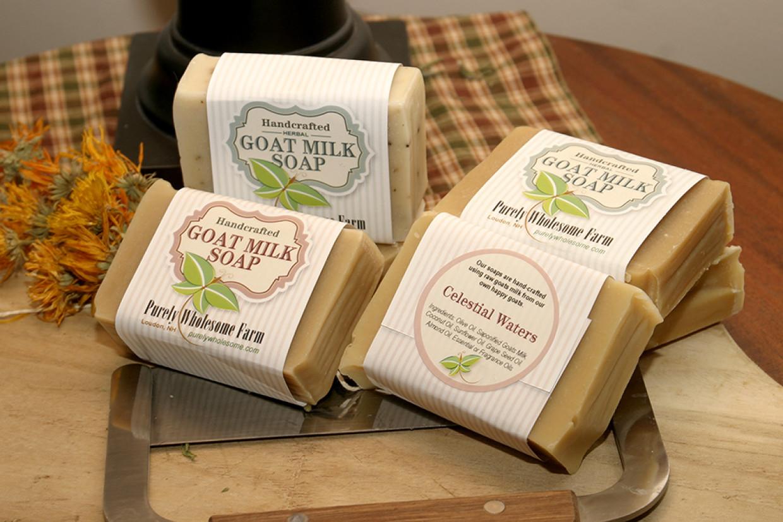 Goat Milk Soap and Gardeners Hand Cream